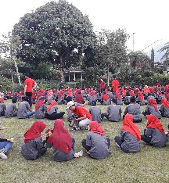 Outbound 2019 Dengan Tema Memantapkan Jati Diri Menuju Indonusa Unggul dan Mendunia