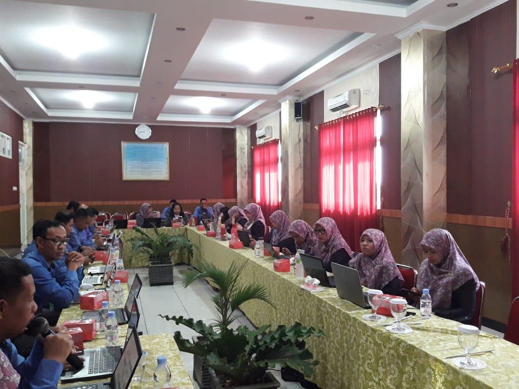 Monitoring Program kerja TA 2019/2020